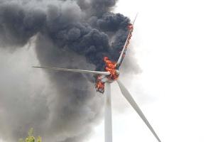 Burnin turbine